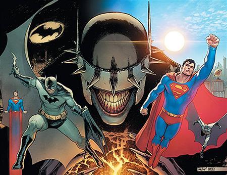 DF BATMAN SUPERMAN #1 CONNECTING A SGN WILLIAMSON