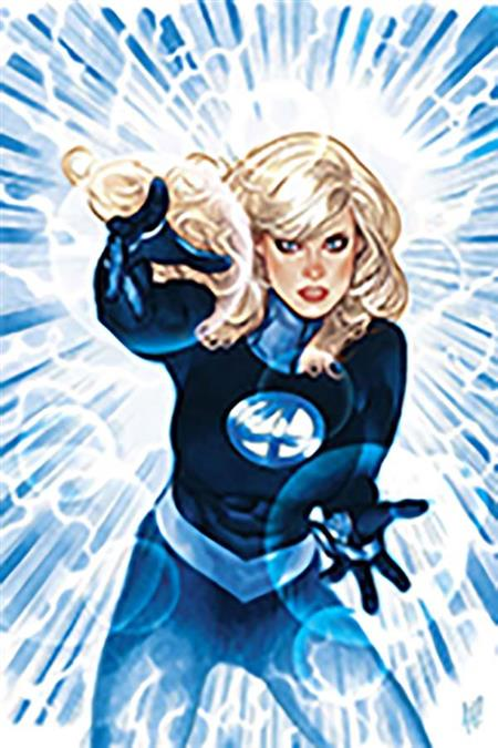 DF INVISIBLE WOMAN #1 SGN WAID