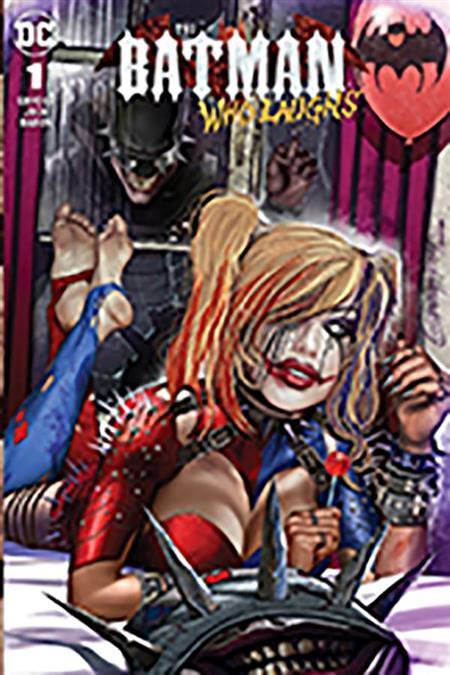 DF BATMAN WHO LAUGHS #1 COMICXPOSURE EXC HORN CVR