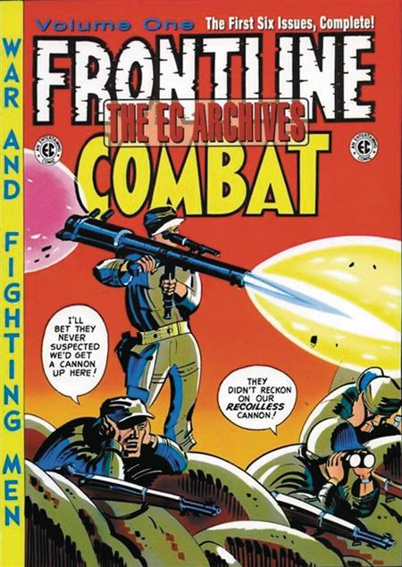 EC ARCHIVES FRONTLINE COMBAT HC VOL 01