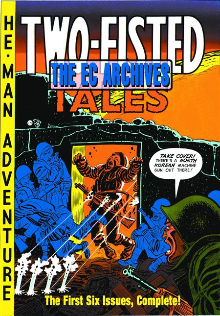 EC ARCHIVES TWO FISTED TALES HC VOL 01