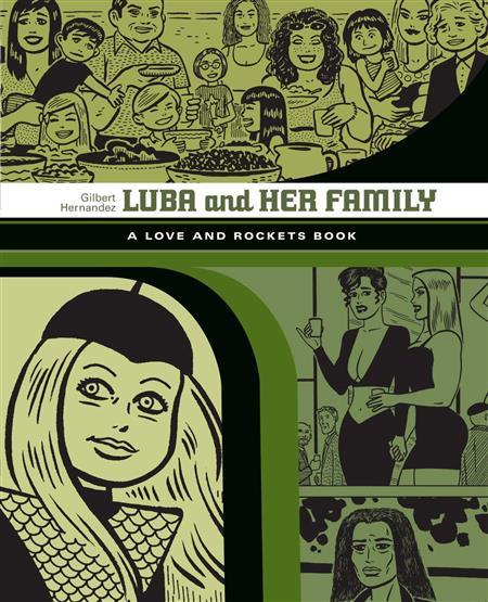 LOVE & ROCKETS LIBRARY GILBERT GN VOL 04 LUBA & FAMILY (MR)