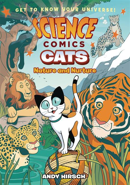 SCIENCE COMICS CATS NATURE & NUTURE HC GN (C: 1-1-0)