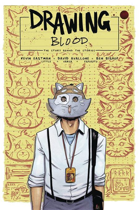 DRAWING BLOOD SPILLED INK #4 (OF 4) CVR A BISHOP (MR)