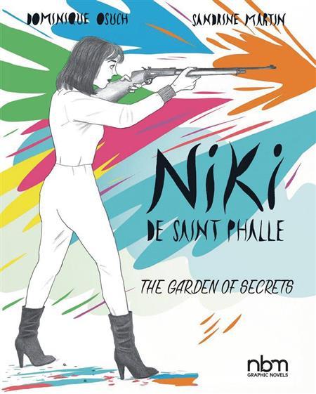 NIKI DE SAINT PHALLE GARDEN OF SECRETS HC GN