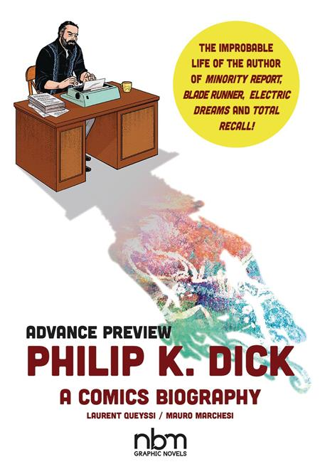 PHILIP K DICK A COMICS BIOGRAPHY HC