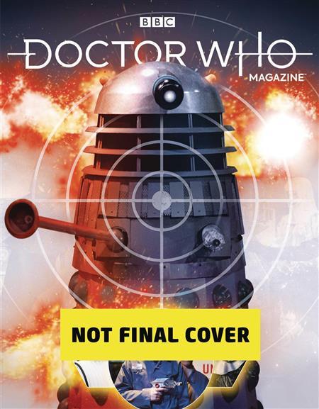 DOCTOR WHO MAGAZINE #542 (C: 0-1-1)