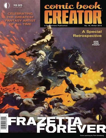 COMIC BOOK CREATOR #19 (C: 0-1-1)