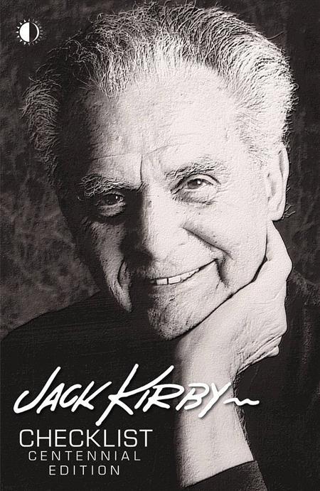 JACK KIRBY CHECKLIST CENTENNIAL LTD ED HC