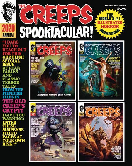 CREEPS ANNUAL #2 2020 SPOOKTACULAR (MR)