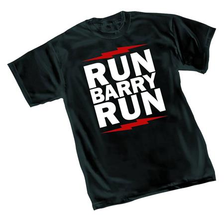 FLASH RUN BARRY RUN T/S LG (C: 1-1-2)