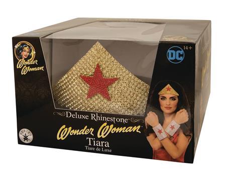 DC HEROES WONDER WOMAN DELUXE RHINESTONE TIARA (C: 1-1-2)