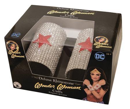 DC HEROES WONDER WOMAN DELUXE RHINESTONE CUFF SET (C: 1-1-2)