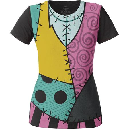 NIGHTMARE BEFORE CHRISTMAS SALLY CHARACTER T/S MED (C: 1-1-2