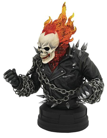 MARVEL COMIC GHOST RIDER 1/6 SCALE BUST (C: 1-1-2)