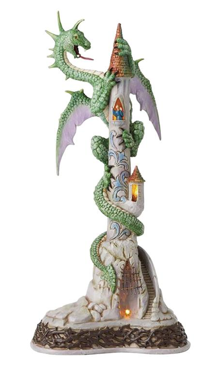FANTASY LIMITED EDITION 18.5IN LIGHTED DRAGON STATUE (C: 1-1