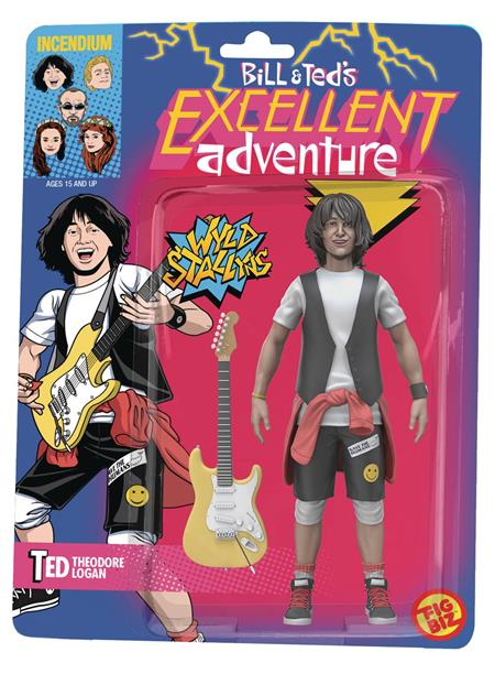 BILL AND TEDS EXCELLENT ADVENTURE TED 5IN ACTION FIGURE (C: