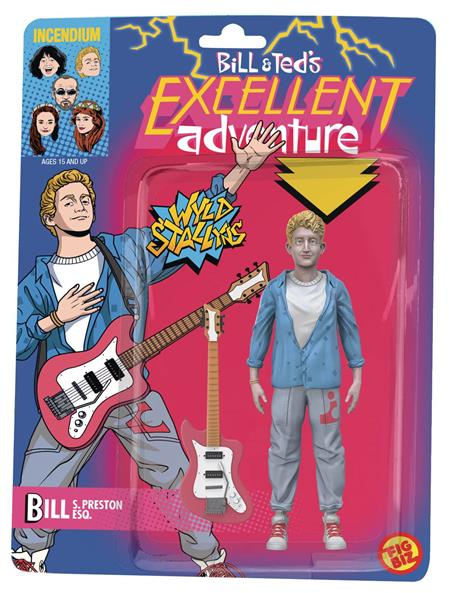 BILL AND TEDS EXCELLENT ADVENTURE BILL 5IN ACTION FIGURE (C: