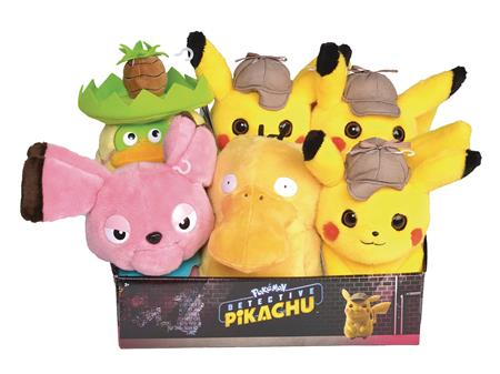 POKEMON DETECTIVE PIKACHU 8IN PLUSH ASST (C: 1-1-2)