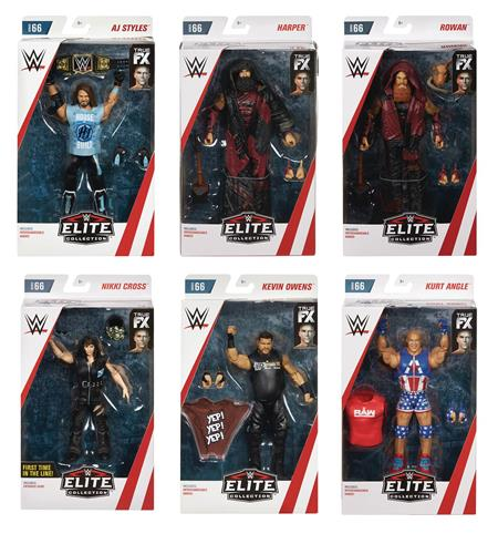 WWE ELITE COLLECTION AF SER66 ASST (Net) (C: 1-1-1)
