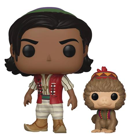 POP & BUDDY ALADDIN LIVE W/ ABU VINYL FIG (C: 1-1-2)
