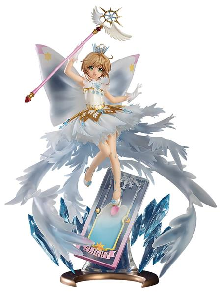 CARDCAPTOR SAKURA CLEAR CARD SAKURA 1/7 PVC HELLO WORLD VER