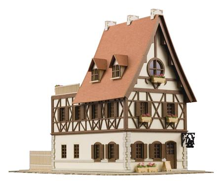IS THE ORDER ANITECTURE RABBIT HOUSE 1/150 PAPER MDL KIT (C: