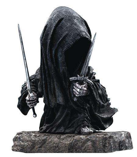 LORD OF THE RINGS NAZGUL DEFO REAL SOFT VINYL STATUE DLX VER
