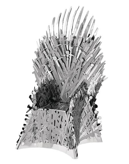 GAME OF THRONES METAL EARTH IRON THRONE MODEL KIT (C: 1-1-2)