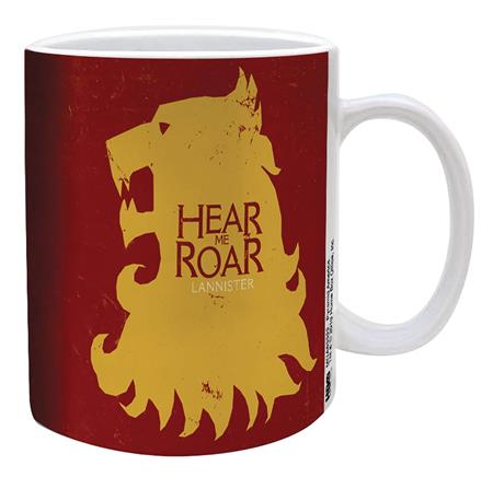 GAME OF THRONES LANNISTER SIGIL 11OZ MUG (C: 1-1-2)
