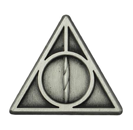 HARRY POTTER DEATHLY HALLOWS PEWTER LAPEL PIN (C: 1-1-2)