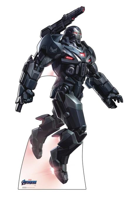 AVENGERS ENDGAME WAR MACHINE LIFE-SIZE STAND UP (C: 1-1-2)