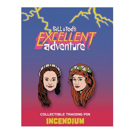 BILL AND TEDS EXCELLENT ADVENTURE LAPEL PIN SET B (C: 1-1-2)