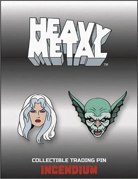 HEAVY METAL LAPEL PIN SET A (C: 1-1-2)
