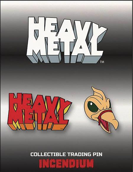 HEAVY METAL LAPEL PIN SET C (C: 1-1-2)