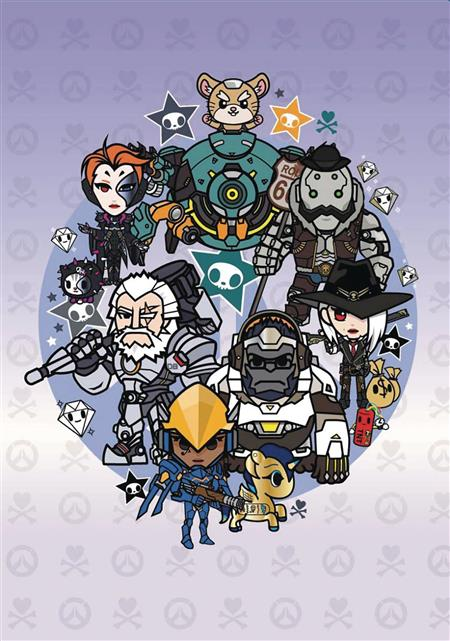 OVERWATCH X TOKIDOKI SERIES 3 HEROES NOTEBOOK (C: 1-1-2)