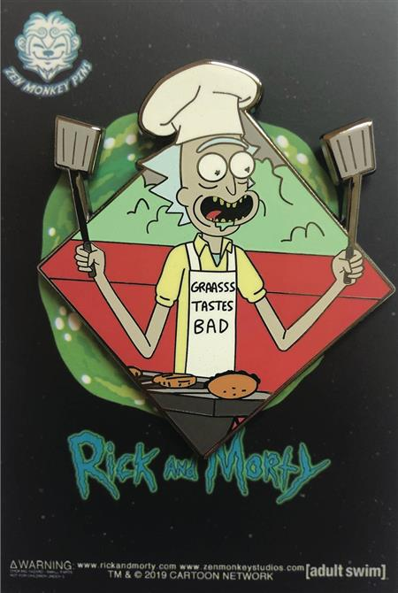 RICK AND MORTY FAMOUS MOMENTS THE BBQ PIN (C: 1-1-2)