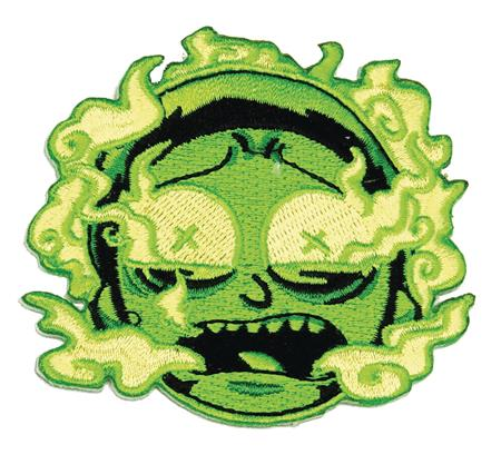RICK AND MORTY GREEN BURNT OUT MORTY PATCH (C: 1-1-2)