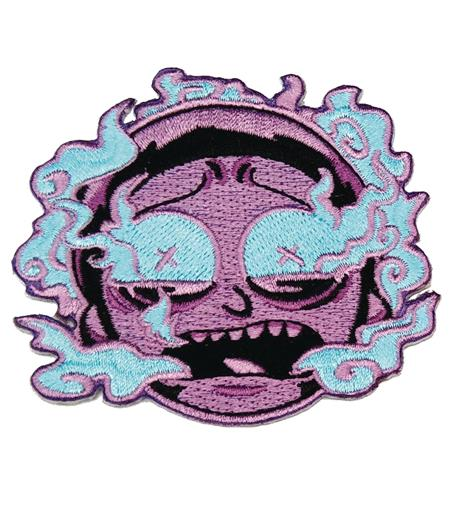 RICK AND MORTY PURPLE BURNT OUT MORTY PATCH (C: 1-1-2)