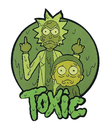 RICK AND MORTY TOXIC PATCH (C: 1-1-2)