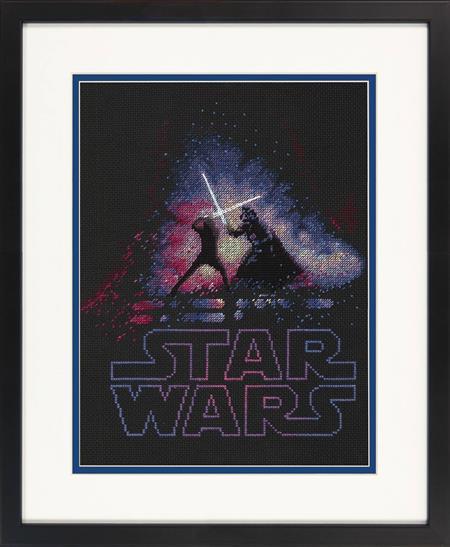 STAR WARS LUKE AND DARTH VADER X-STITCH KIT (C: 1-1-2)