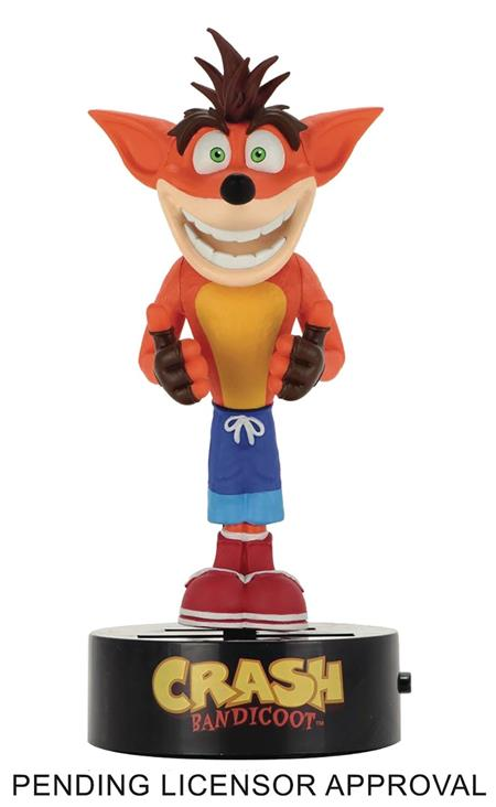 CRASH BANDICOOT CRASH BODY KNOCKER (C: 1-1-2)