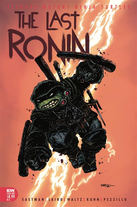 TMNT THE LAST RONIN #1 (OF 5) 10 COPY INCV EASTMAN (Net)