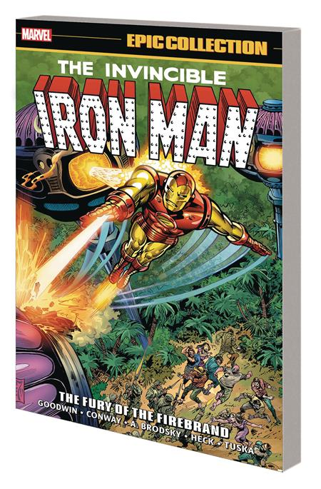 IRON MAN EPIC COLLECTION TP FURY OF FIREBRAND
