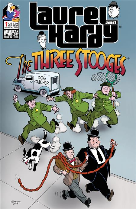 LAUREL & HARDY MEET THREE STOOGES #1 CVR A SHANOWER