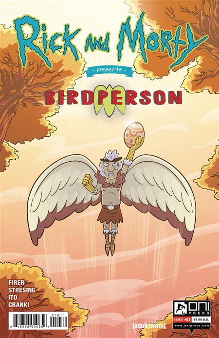 RICK & MORTY PRESENTS BIRDPERSON #1 CVR A STRESSING