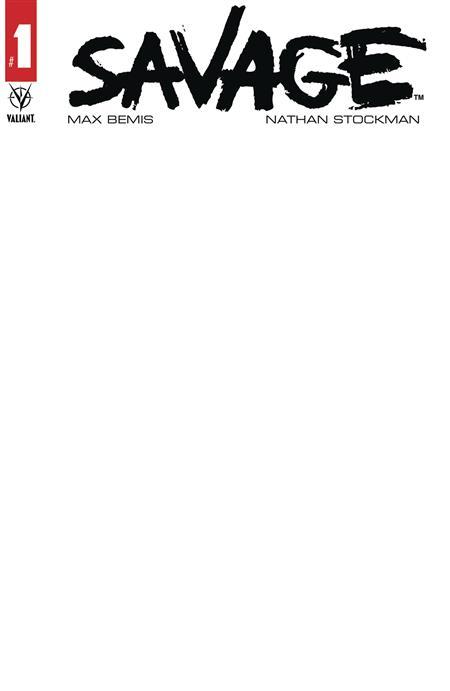 SAVAGE (2020) #1 CVR D BLANK VAR