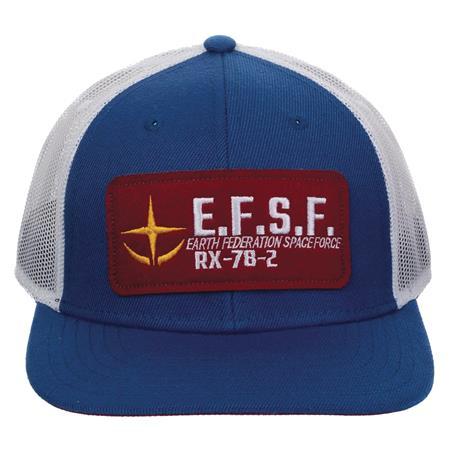 GUNDAM MILITARY PATCH TRUCKER CAP (C: 1-0-2)