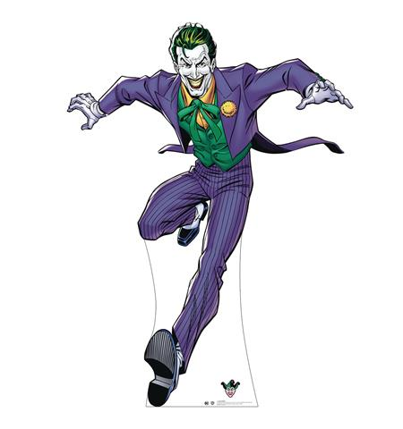 DC HEROES THE JOKER LIFE-SIZE STAND UP (C: 1-1-2)