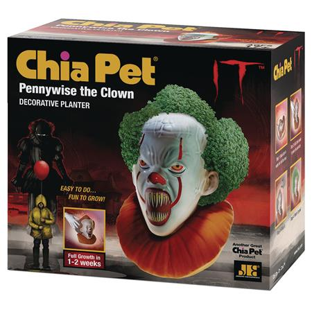CHIA PET IT PENNYWISE SCREAMING (C: 1-1-2)